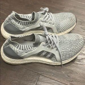 Size 9 grey Adidas Ultraboost